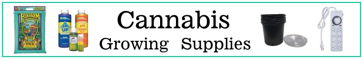 Marijuana & cannabis grow supplies & equipment