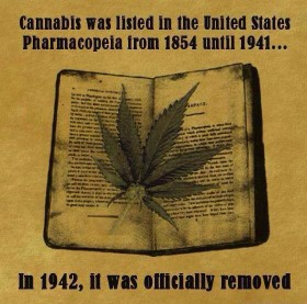 Pre 1942, many Americans knew that marijuana was a natural medicine.